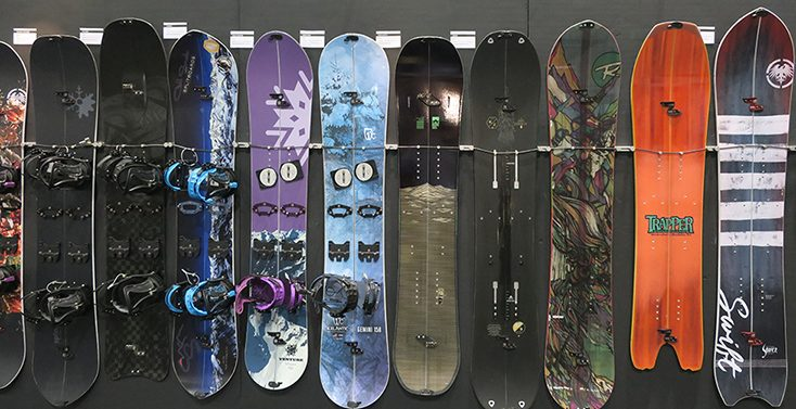 2018 Snowboards & Splitboards First Look from SIA Trade Show