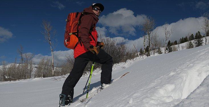 The North Face Free Thinker Jacket Splitboarding