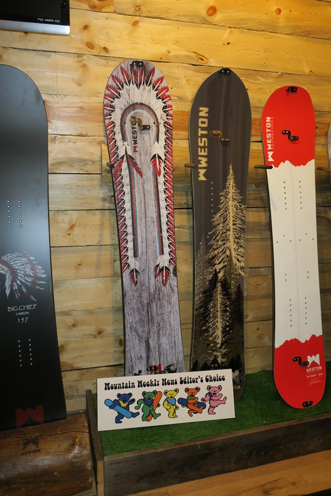 Weston Snowboards 2017-2018