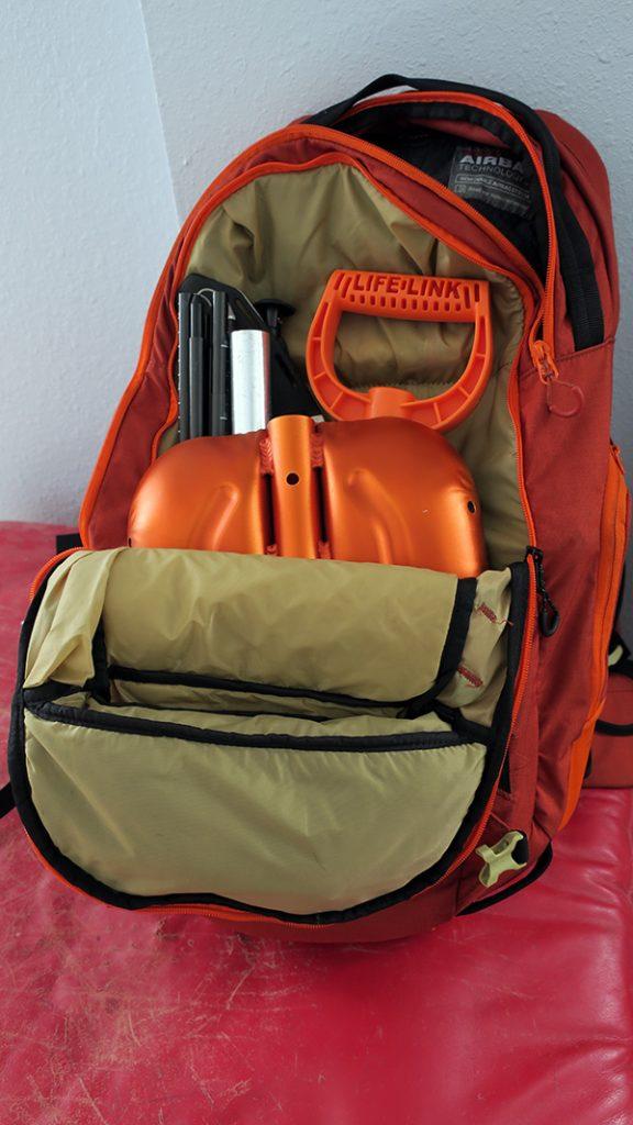 Dakine Poacher Snow Safety Backpack Pocket