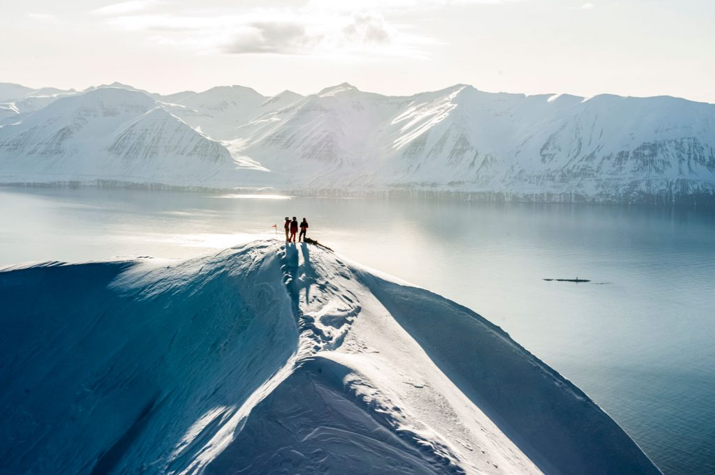 Heliskiing in Iceland