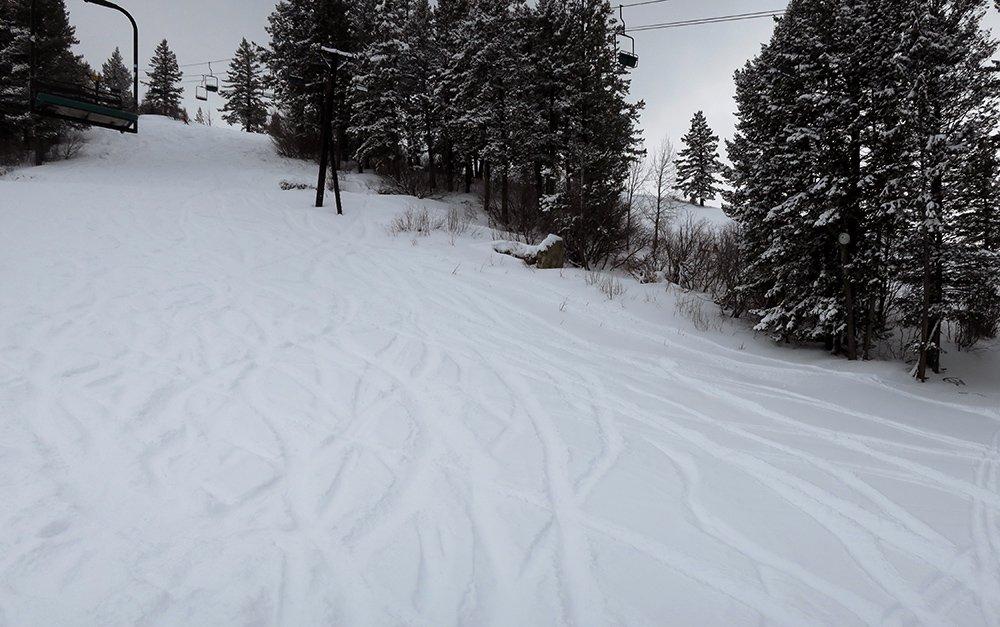Kelly Canyon Ski Powder Day