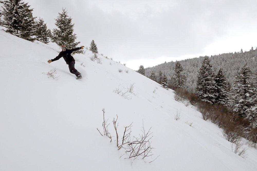 Mike Hardaker Never Summer Insta/Gator Snowboard