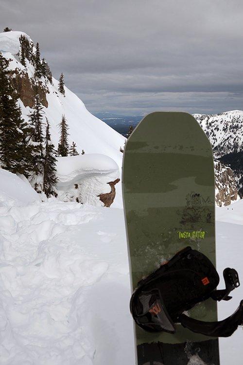 Never Summer 2018 Insta-gator snowboard