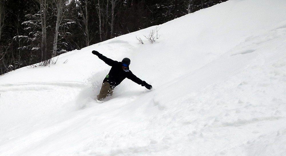 Ryan Ariano Kelly Canyon Ski Resort Powder