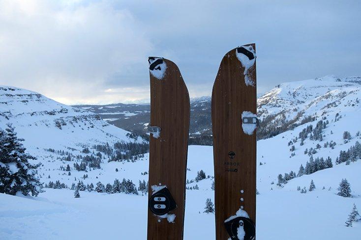 Splitboard Touring Togwotee Pass Wyoming