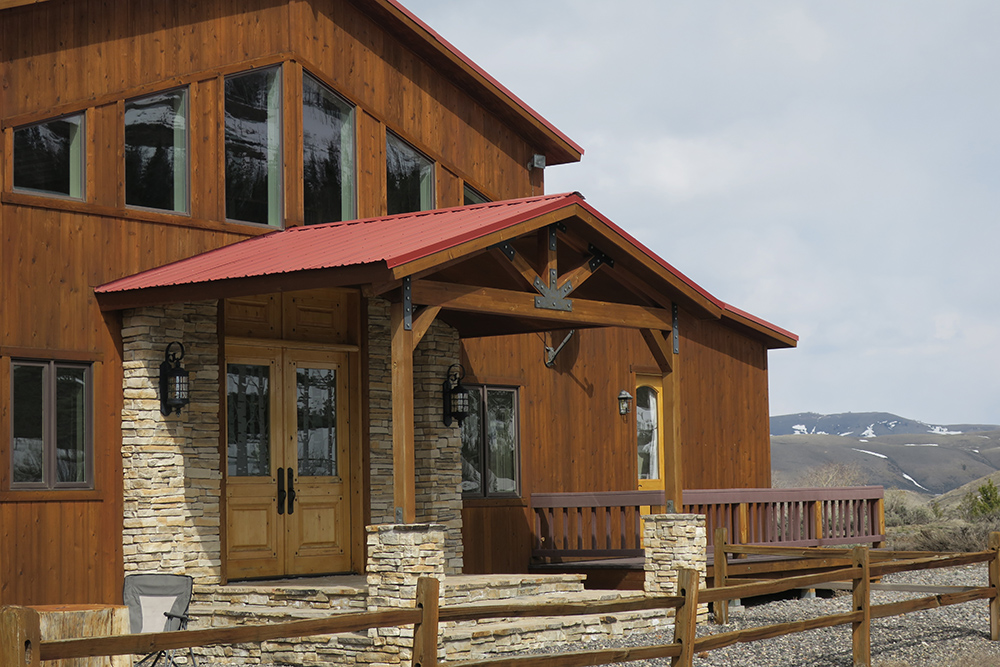 Big Diamond Ranch Main House Rental Dubois WY