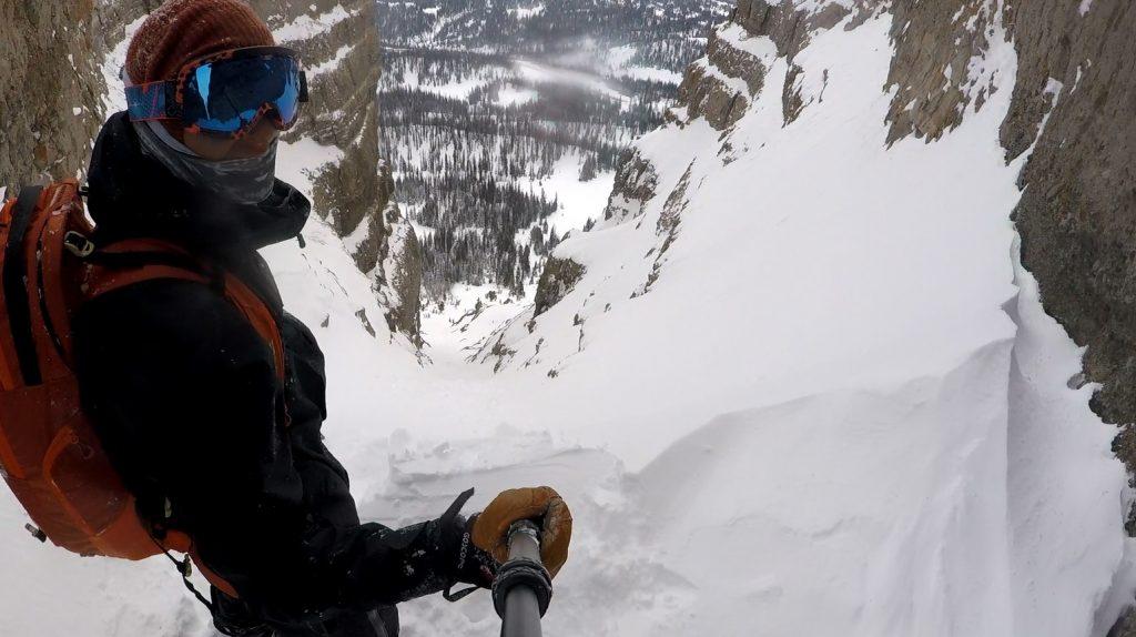 Dropping Radio Tower Snowboard