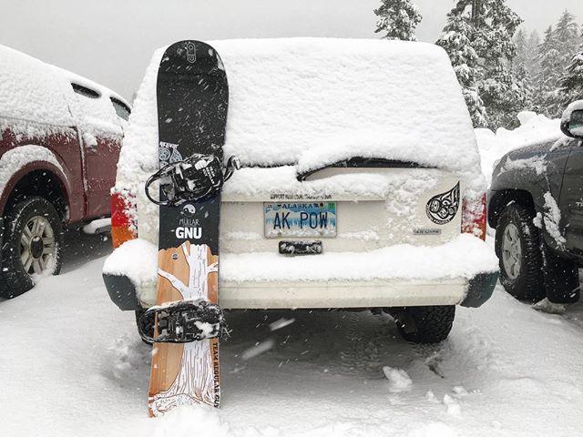 GNU Mullair 2017 Snowboard Photo Spenser Johnson