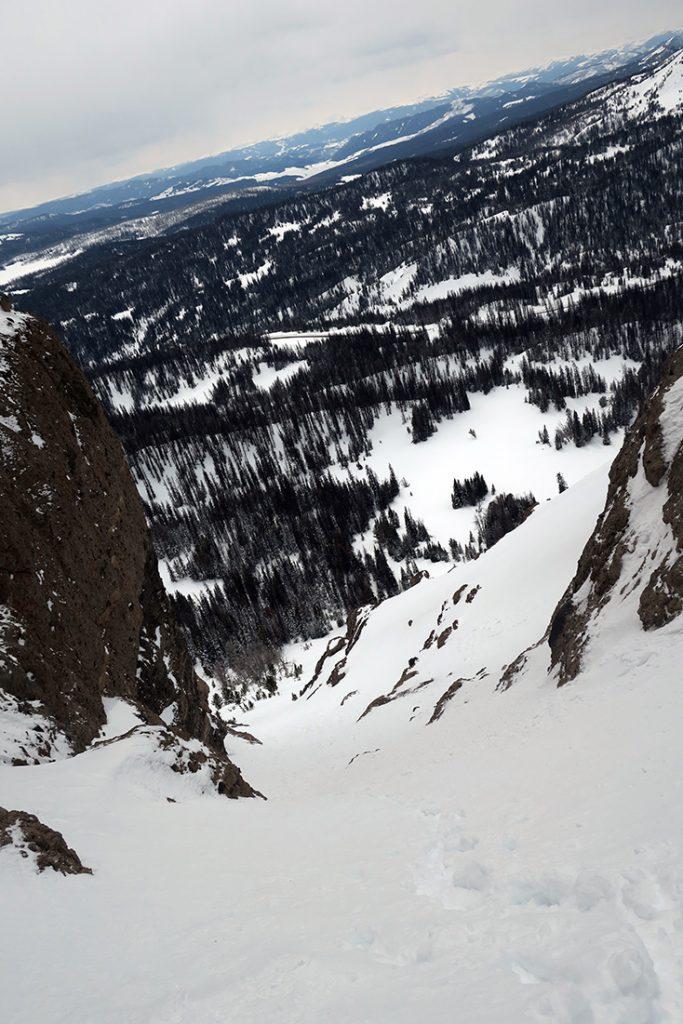 Radio Tower Togwotee Pass Skiing and Climbing
