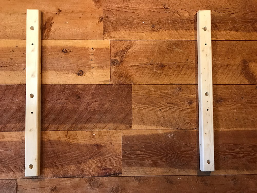 Store Your Board Wood Rack