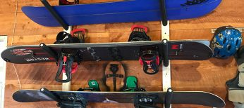 Store Your Board Snowboard Rack System