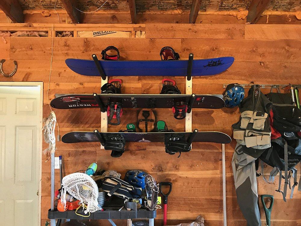 storeyourboard snowboard rack