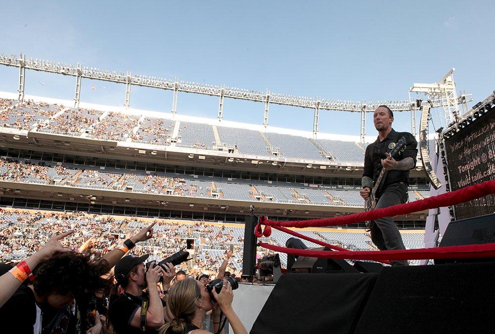 Metallica Concert Photos, Mile High Stadium Denver