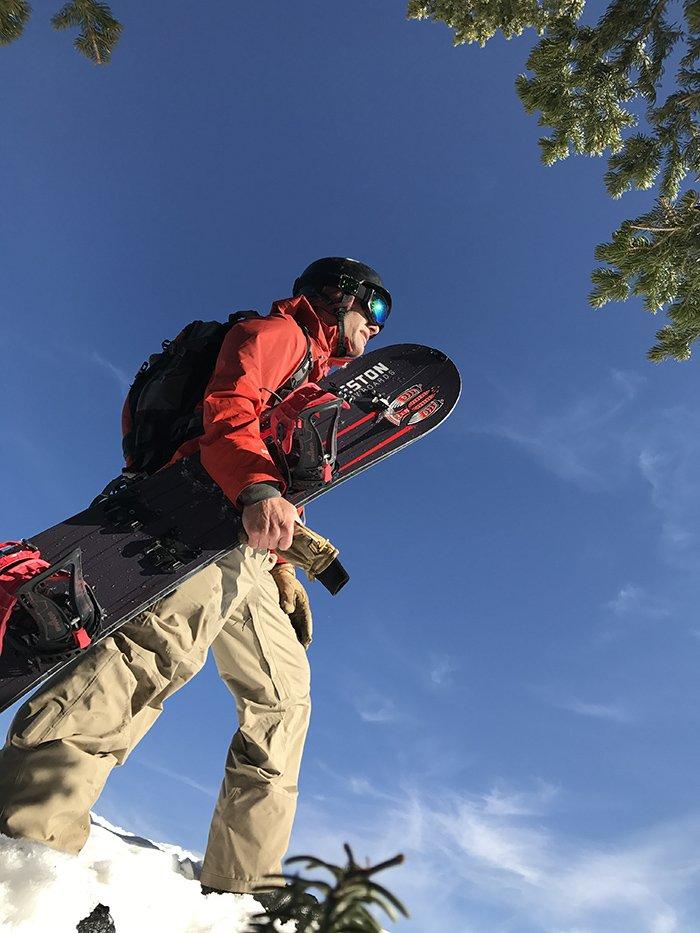 Weston Big Chief Splitboard Hiking