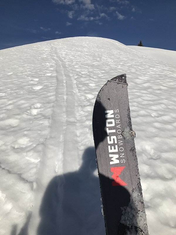 Weston Big Chief Splitboard Touring