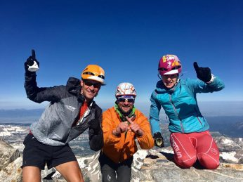 Double Grand 50K – A New Teton Climbing Record Has Been Set, For Now..