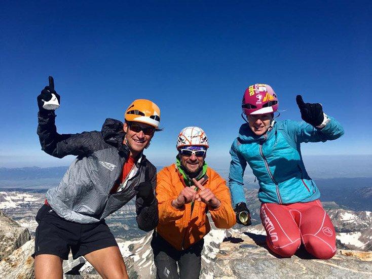 Grand Teton 50K Summit 2