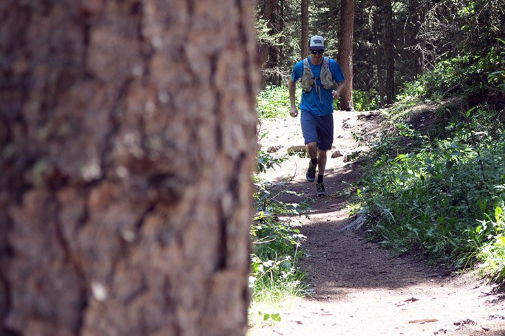 Running Cache Creek Jackson Wyoming Trails