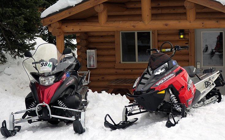 Togwotee Mountain Lodge Snowmobile Cabin Rentals