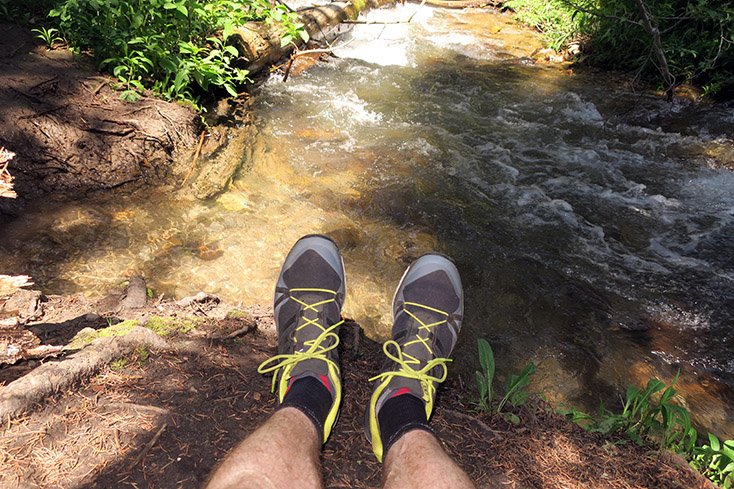 adidas Outdoor Men's Terrex Agravic Shoe River