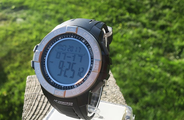 Armitron Adventure Digital Day Watch Review