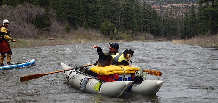 A rafting story with Jack's Plastic Welding, a dog and a Cutthroat