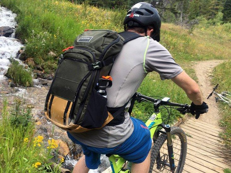 Dakine Backpack Test Cache Creek Jackson WY