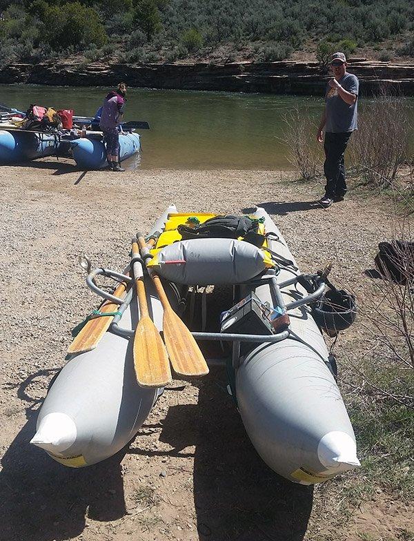 Jacks Cutthroat Raft Put In