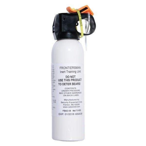 Bear Spray Test Practice