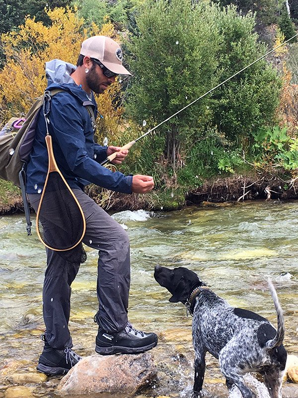 GSP Fly Fishing in Jackson Hole