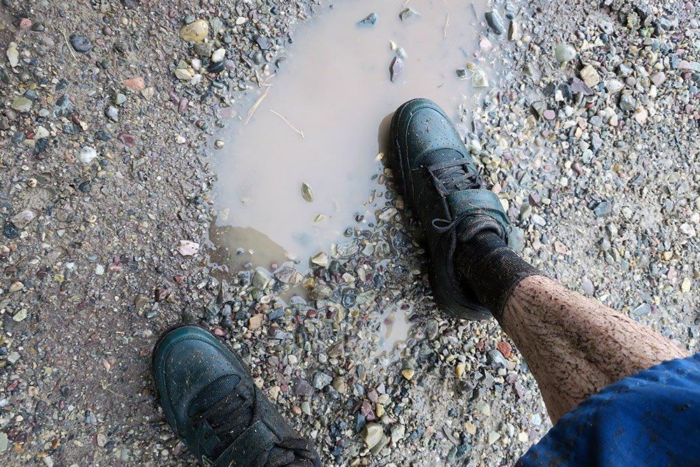 Wet MTB Shoe