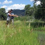 Snake River Sporting Club Fishing with the Orvis Fly Fishing School