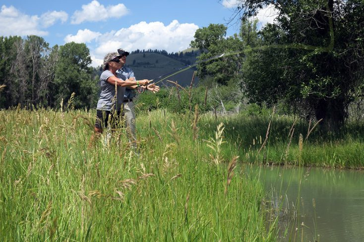 The Snake River Sporting Club is Home to the World Famous Orvis Fly Fishing School