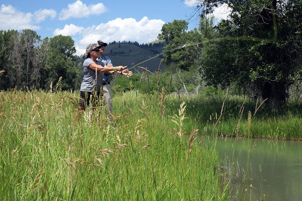 Jackson Hole Fly Fishing At Snake River Sporting Club