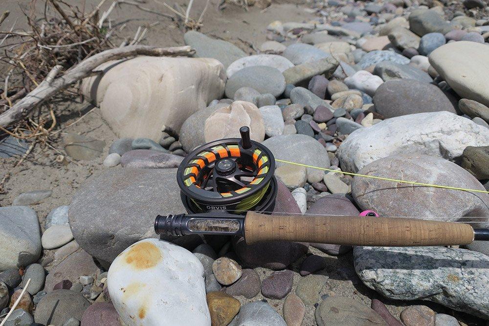 Orvis Fishing Reel on Helios Rod