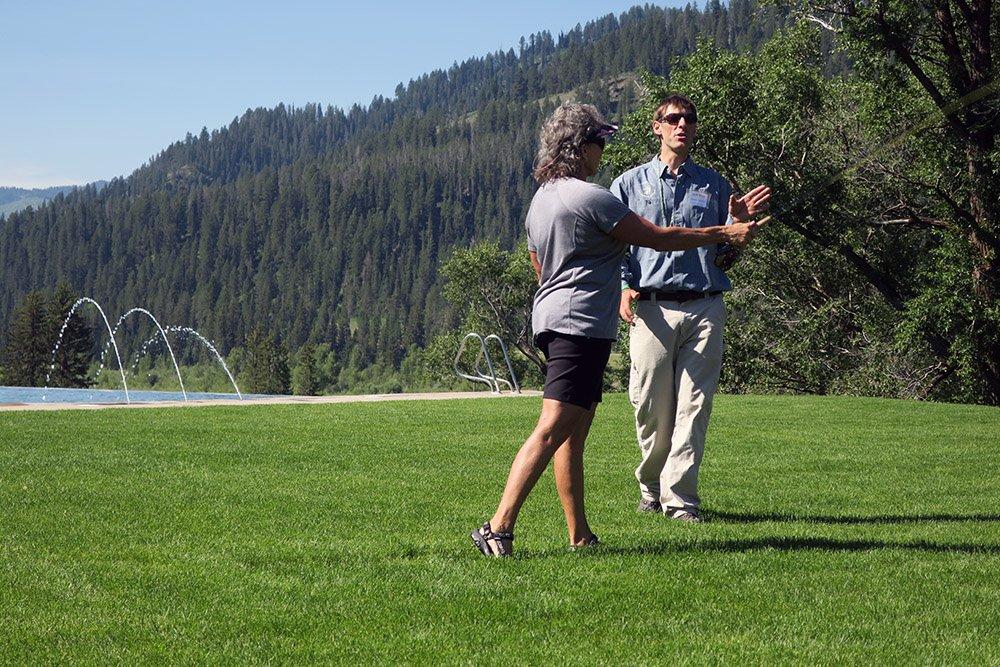 Teaching Fly Fishing Casting