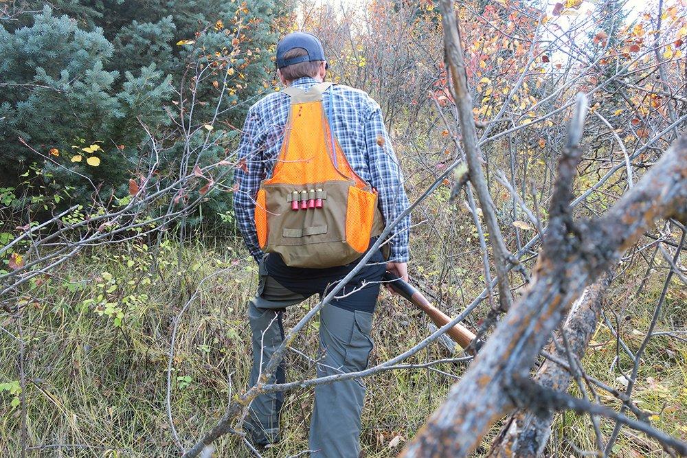 Hunting and Hiking with Filson Mesh Game Bag