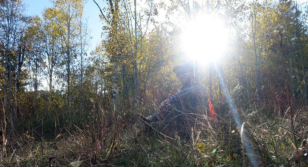 Hunting Hoback WY Filson Mesh Game Bag