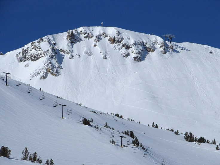 Mammoth Mountain CA Powder