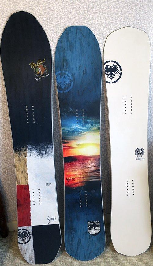 Never Summer Shaper Series Snowboard Line 2018