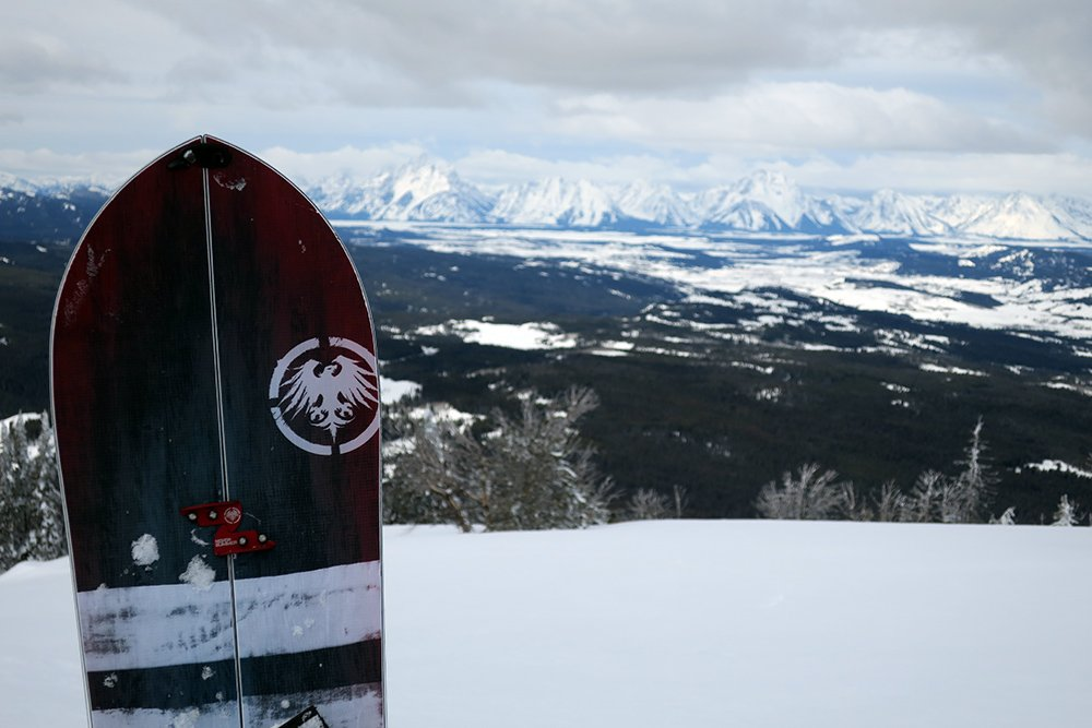Never Summer Swift Snowboard Tetons
