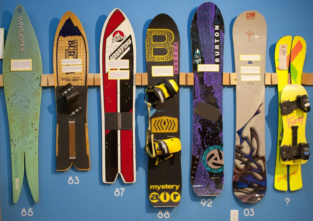 Snowboard Construction over the years