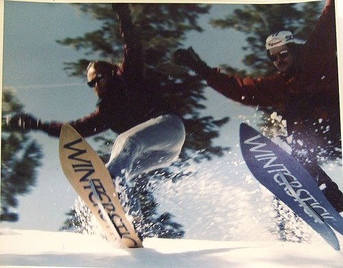 Old Winterstick Swallow Tail Snowboards
