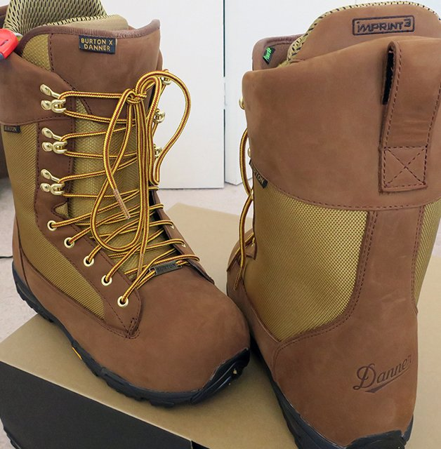 Burton Snowboards Danner Boots Leather
