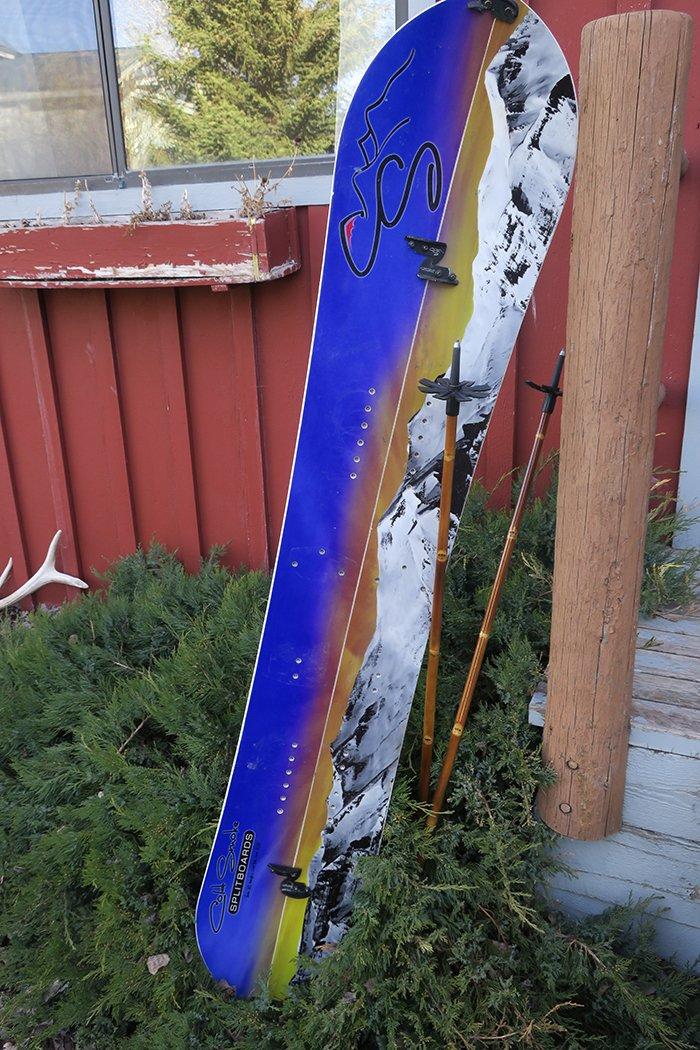 Cold Smoke Voodoo 163 Splitboard Review - Mountain Weekly News