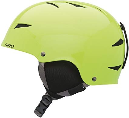 Snowboard Helmet Bright Green