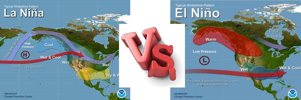 La Nina vs El Nino