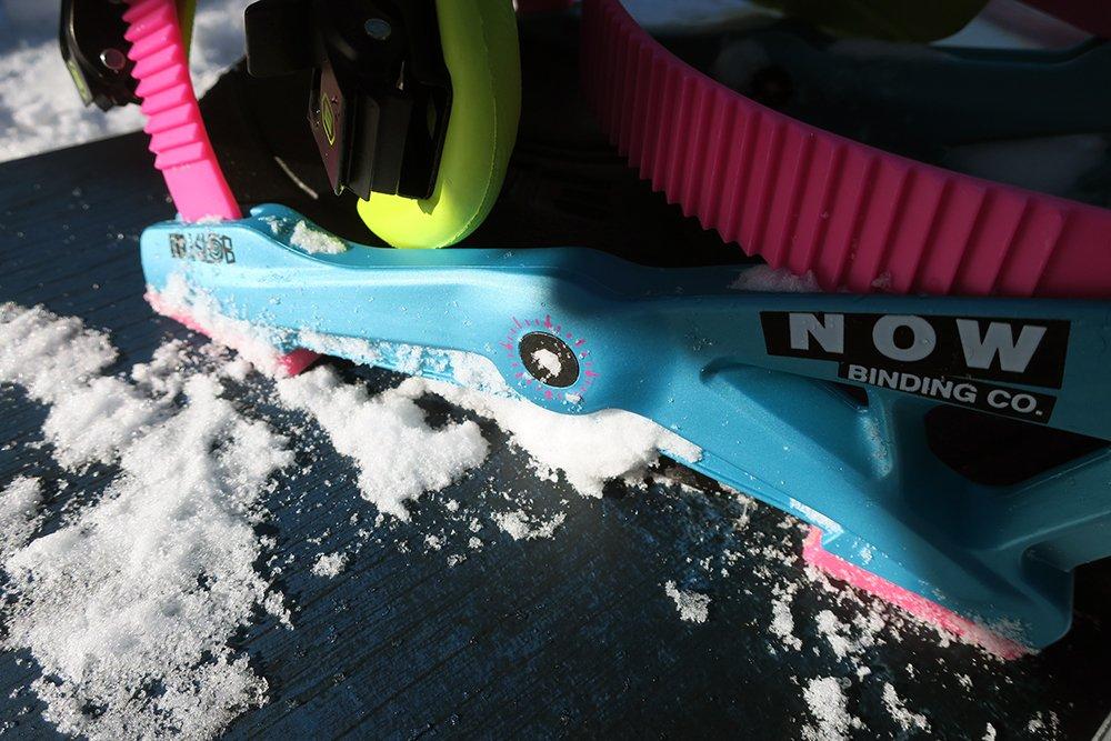 Now Skatetech Snowboard Binding