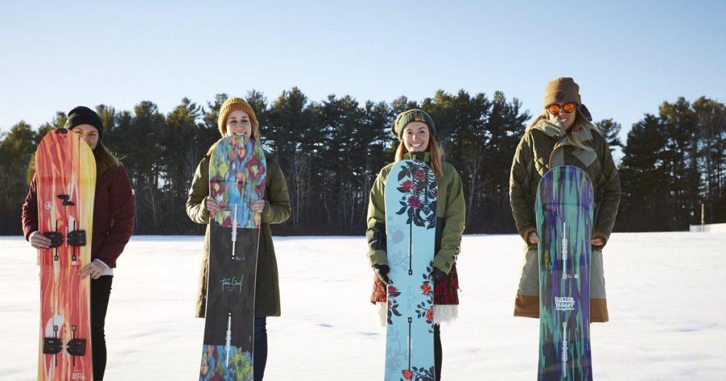Burton Womens Snowboard Sizing